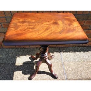 Early George 1V Mahogany occasional table /wine /tilt top table.C 1830.