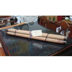 Two sets of cricket stumps A set of three Vintage Cricket Stumps Stock Id 1702 $95 Stock Id 1701 A set of four vintage...