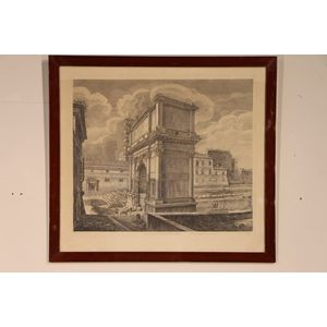 An copper plate engraving by R