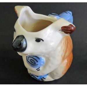 An Australian pottery koala jug possibly Newtone and painted by Daisy Merton dating to the 1950's. Good condition.