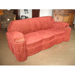 Art Deco sofa dating from 1930