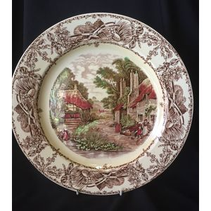 English Rural Scenes Charger.