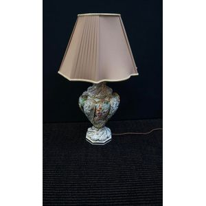 italian capadimonti lamp in re
