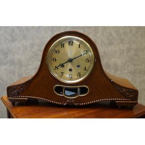 German Art Deco Mantle Clock .