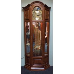 French Lxv Grandfather Clock .