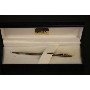 This is rare vintage 1980's Caran d'Ache Madison Collection Sterling Silver 925 Ballpoint Pen.