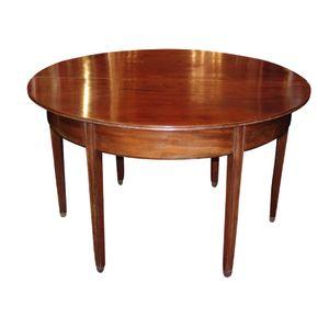This half round mahogany hall
