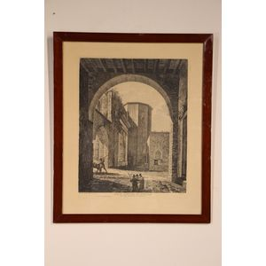An copper plate engraving by t
