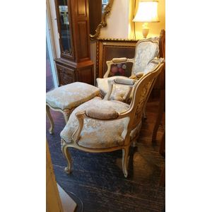 A pair of antique style French