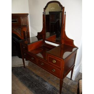 Mahogany Dressing Table In Exellent Condition Also Have The Matching Double Bed $495 and Quality Wardrobe$895