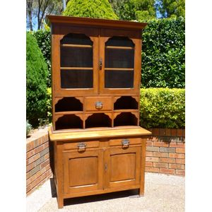 Antique  Country Kitchen Dresser / Bookcase.