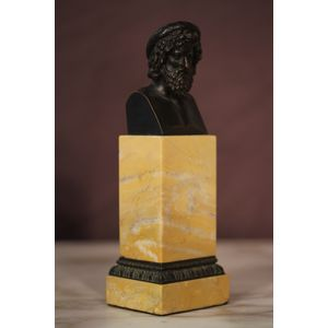 Bust of an ancient antique Gre