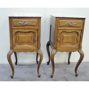 A charming pair of french oak