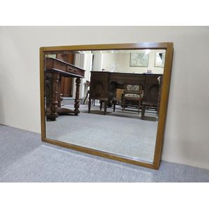 1920's wall mirror with a beve
