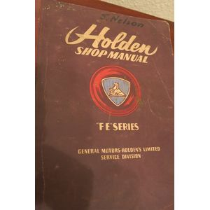 Holden Fe series shop manual