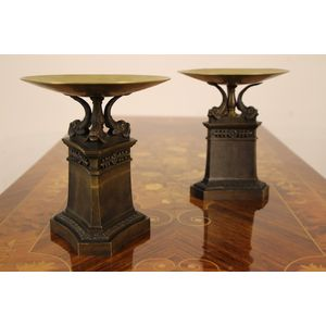 Pair of French Empire bronze u
