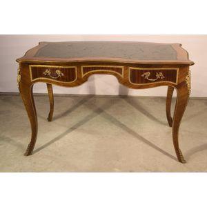 A  practical and ornate desk i