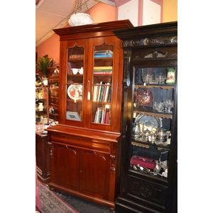 Antique bookcase. Australian c