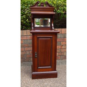 Australian Cedar and Blackwood Art Nouveau Cabinet