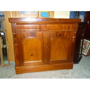A very good and full cedar 1870's sideboard base, dresser base/chiffonier cupboard base in fully refurbished restored condition,...