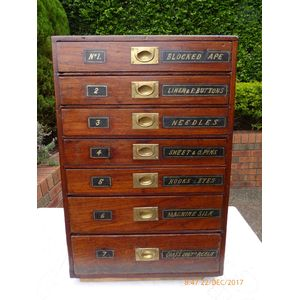 Colonial Cedar Haberdashery Cupboard C1880