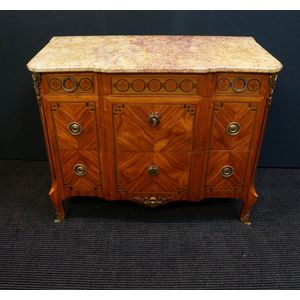 French Lxvi Inlayed Commode in
