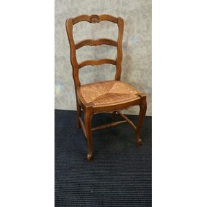Set of Six French Oak Chairs i