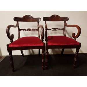 Pair of Regency c1830s carvers