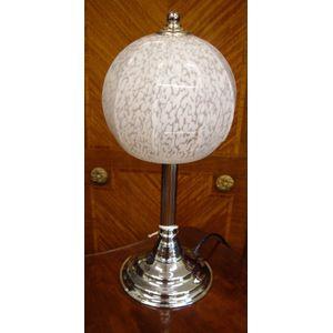 Art Deco Lamp Original Shade .