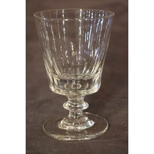 Large Georgian style cut glass