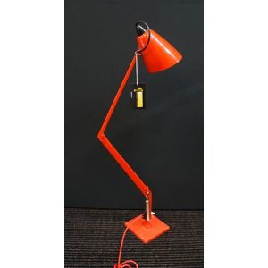 Red Planet Lamp in Good Clean