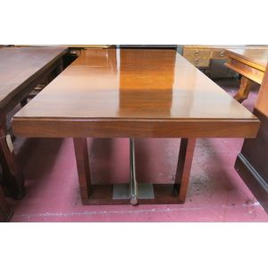 Large Art Deco rosewood dining