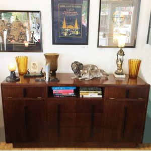 Large Art Deco Sideboard by Ro