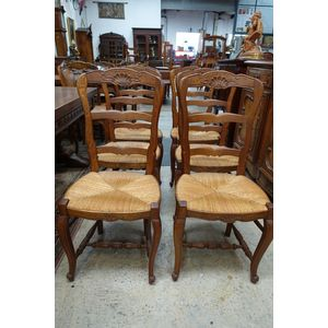 Fabulous set of 6 French oak n