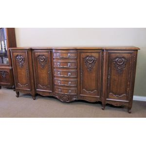 A large french oak sideboard i