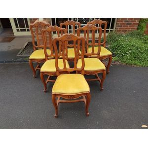 Superb set french dining chair