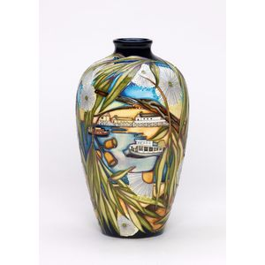 soon to be released in 2017 the Moorcroft Murray River vase issued in a Limited Edition of 50 only with an Australian Exclusive...