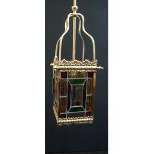Victorian Leadlight Lantern in