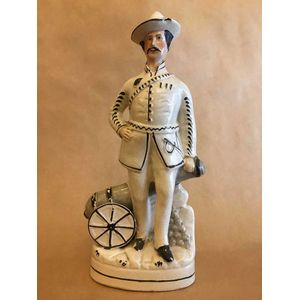 19th Century Staffordshire figurine Excellent example from a large range of antique pieces now available at Melbourne's best...