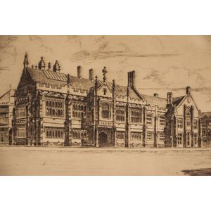 An original engraving by the r