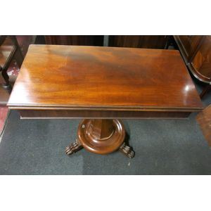 Mahogany William IV games tabl