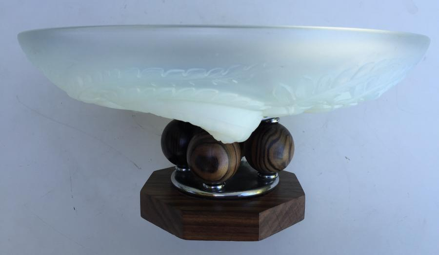 Buy Etling Opalescent Glass Bowl From Prism Original Deco