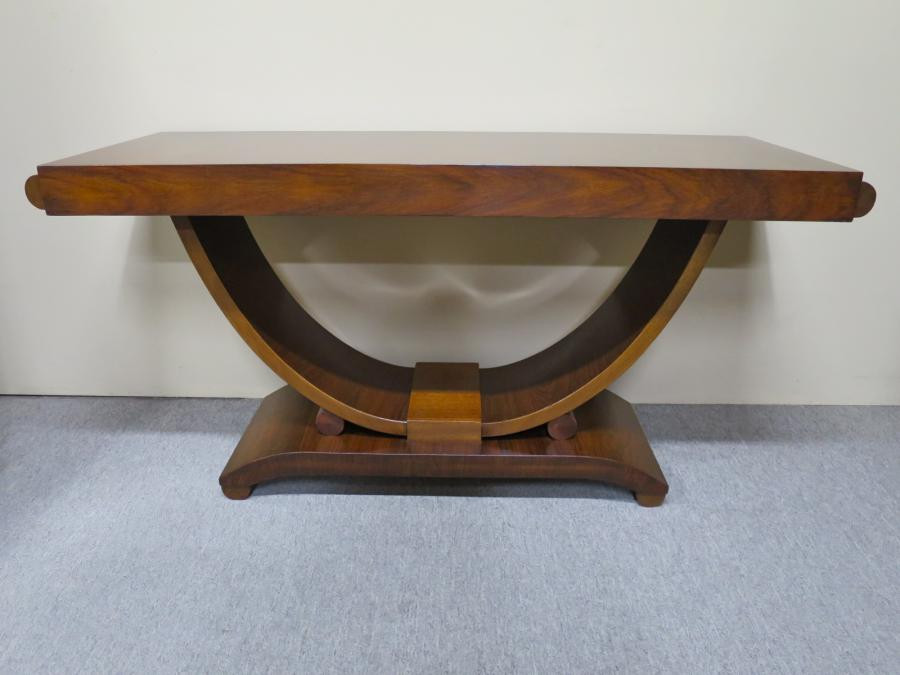 Buy Large Art Deco Rosewood Console Table From Nostalgia