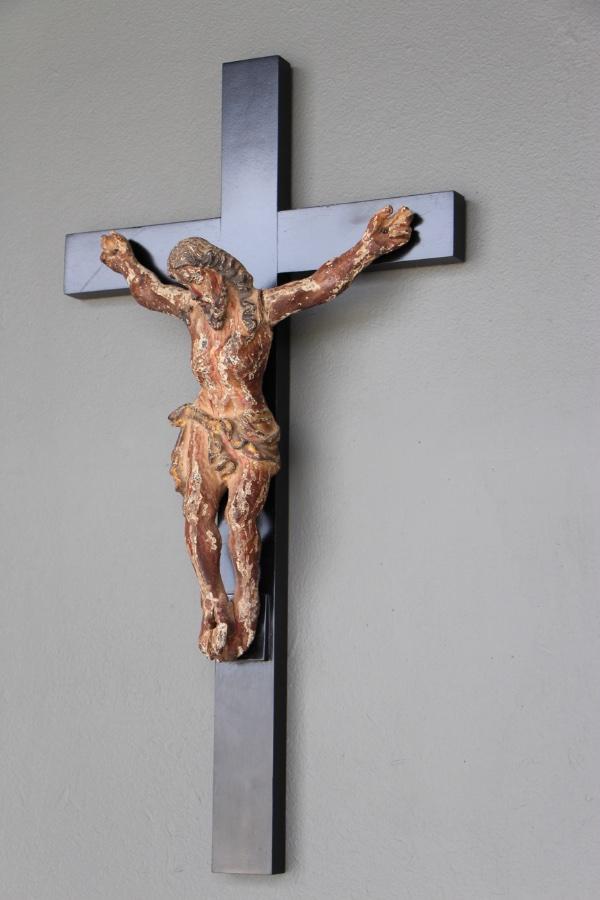 Buy 18th Century Original Crucifix Sculpture From Antiques