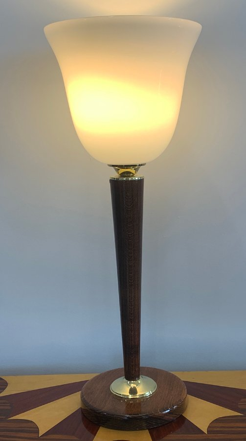 Buy French Art Deco Mazda Lamp From Artedeco