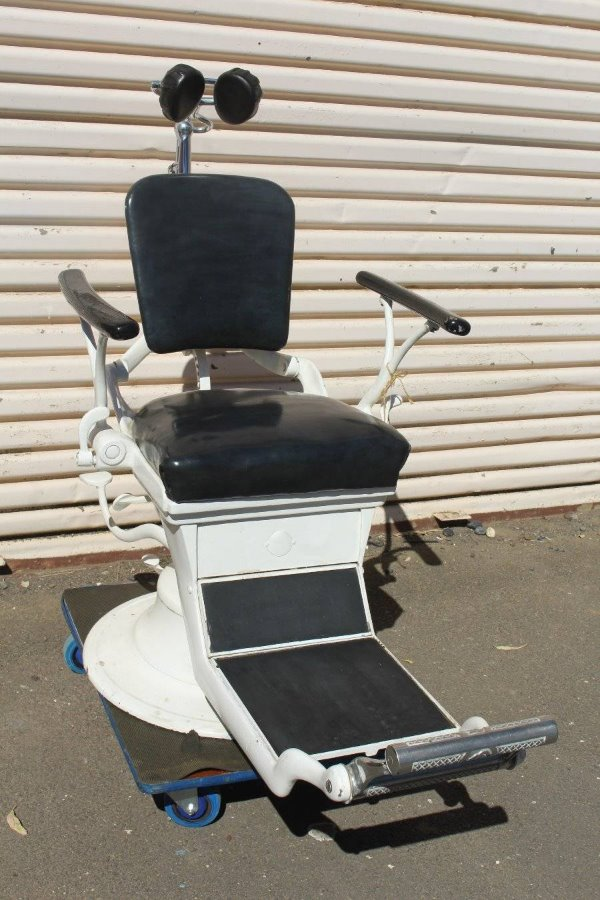 Buy An Antique Cast Iron Dentist Chair From Nannymoos Store