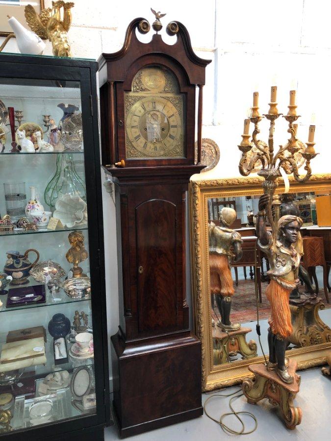 Buy Fabulous George Iii Grandfather Clock From Moonee