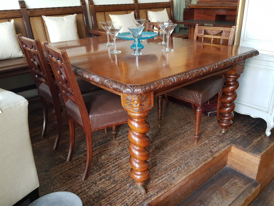 Oak Dining Table Extension