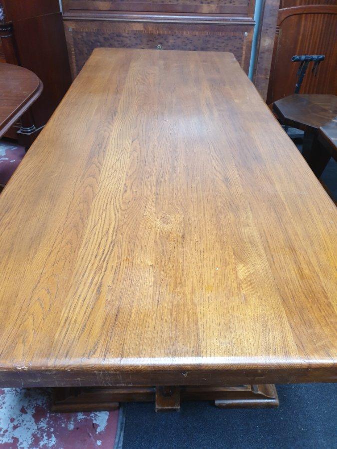 Buy French Oak Farm House Table From Brunswick Street