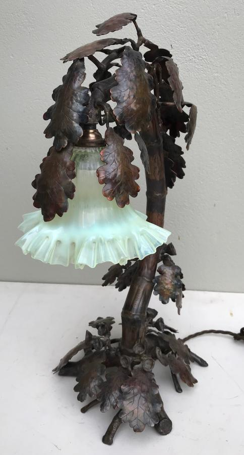 Buy Large French Metal Oak Leaf Lamp Shade From Prism